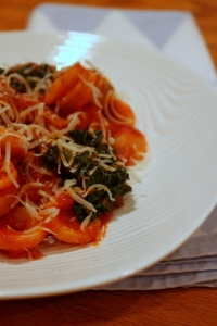Orecchiette with Kale and Sausage4