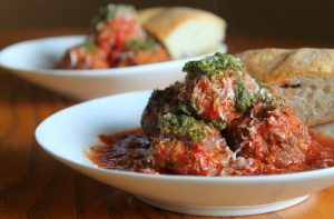 Mouthwatering Meatballs with Homemade Marinara3