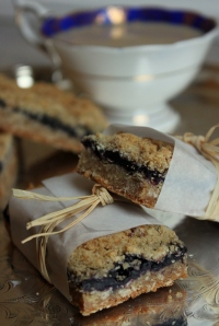 Oatmeal Blueberry bars1