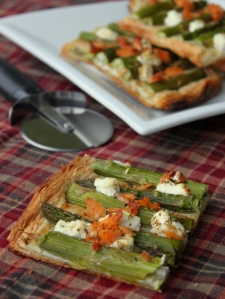 Salmon, Asparagus and Goat Cheese Tart2