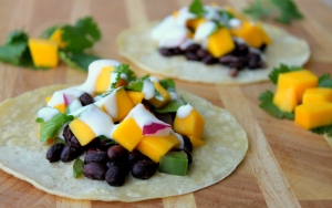 Black Bean and Mango Tacos2