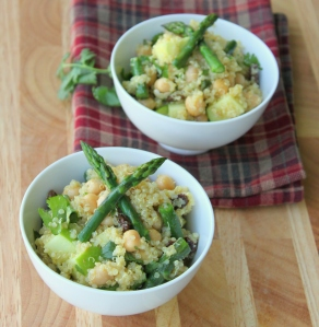 Curried Quinoa and Asparagus Salad1