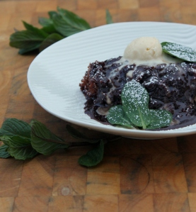 Mint Chocolate Lava Cake3