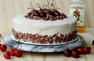 Drunken Cherry Chocolate Cake1