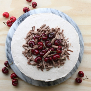 Drunken Cherry Chocolate Cake3